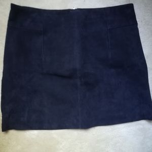 H&M suede skirt (real leather) NWT